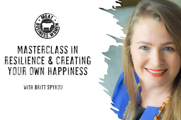 Masterclass in resilience creating your own happiness